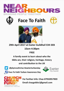Turban tying event: Learn more about Sikhs and Sikhism @ Guildhall, Exeter